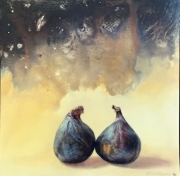 Two Figs in Abstract