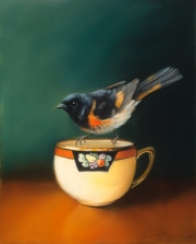 Bird on a Teacup